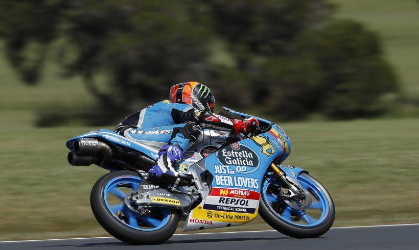 ARÓN PRIMERO TRAS LA PRIMERA JORNDA DEL MICHELIN® AUSTRALIAN MOTORCYCLE GRAND PRIX