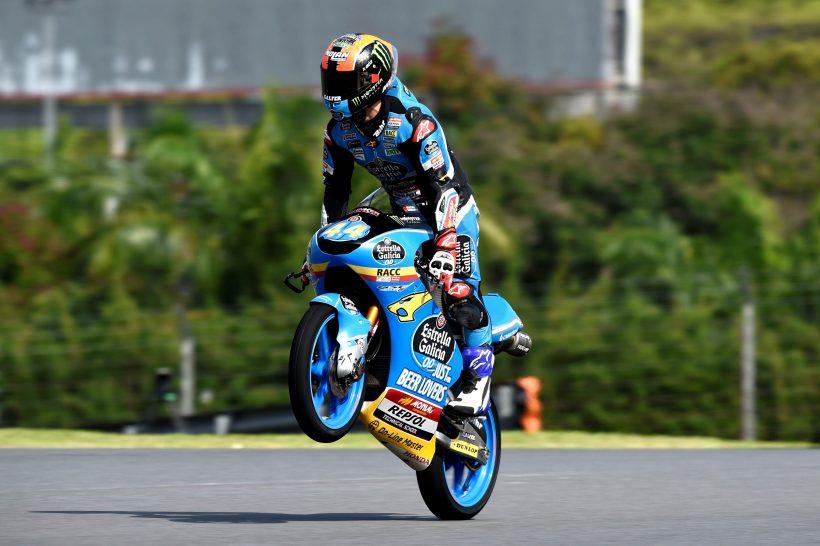 ARÓN TERCERO TRAS LOS FP1-FP2 DEL MALAYSIA MOTORCYCLE GRAND PRIX
