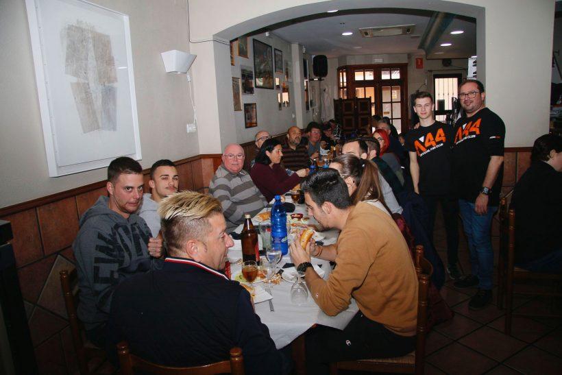 'ESMORZAR DE GERMANOR' PARA LOS INCONDICIONALES DE ARÓN